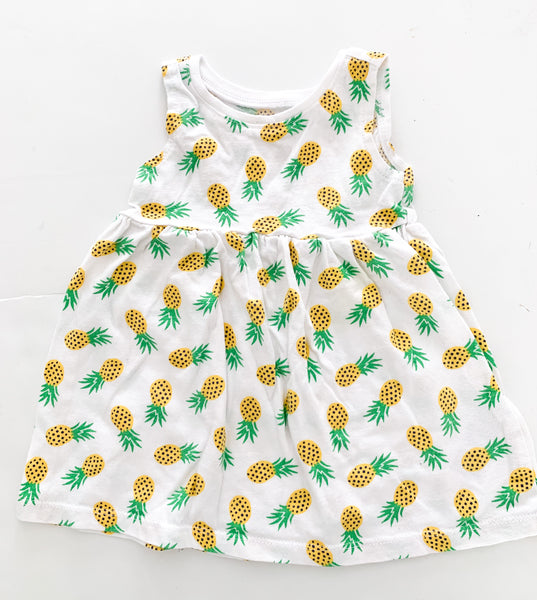Old navy pineapple dress (3-6 months)