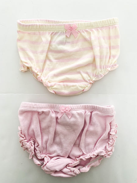 Juicy couture 2 pack bloomers( one size)