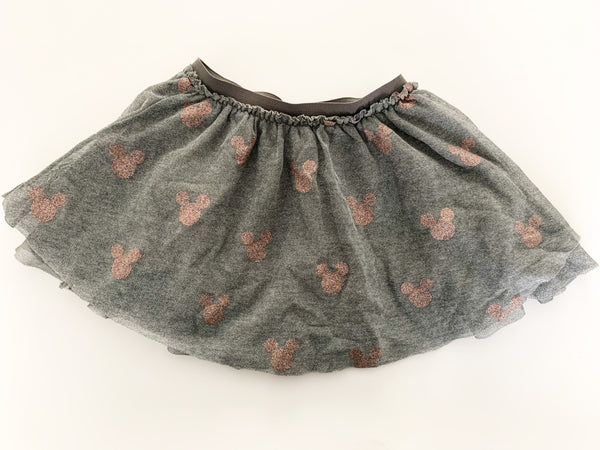 Zara Mickey grey tulle skirt (18-24 months)