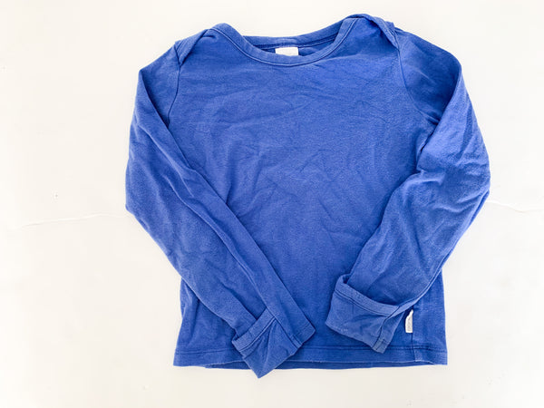 Bonds blue LS shirt (size 2)