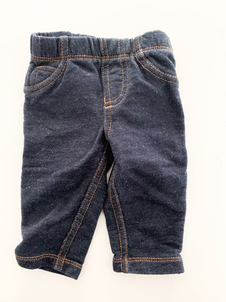 Carters blue jeggings (3 months)