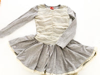No sugar added grey and tulle dress (size 5-6))