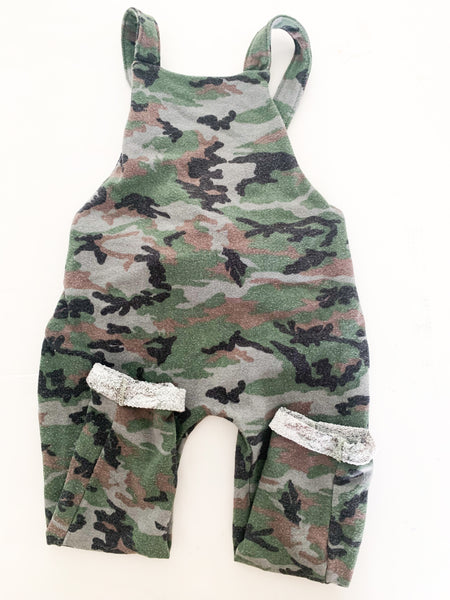 Childhoods camouflage coveralls   ( size 4)