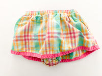 Gap plaid print skirt (up to 3 months)