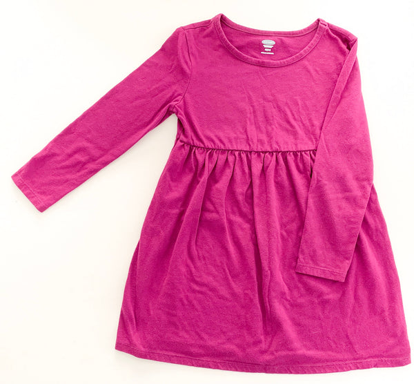 Old Navy purple swing dress