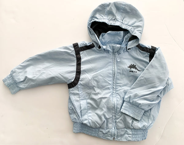 Mexx light blue jacket w/removable hood (9-12 months)