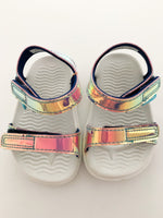 Native hologram charley sandals (size 5)