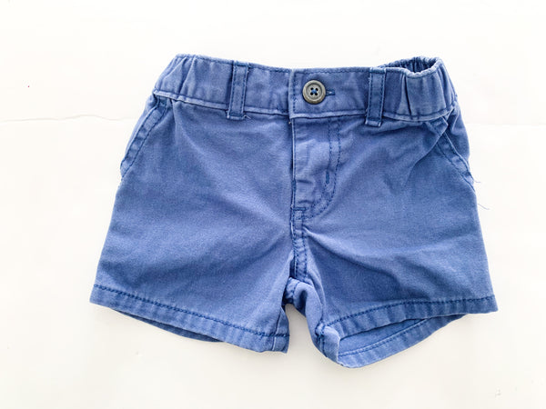 Carter's blue shorts  (6 months)