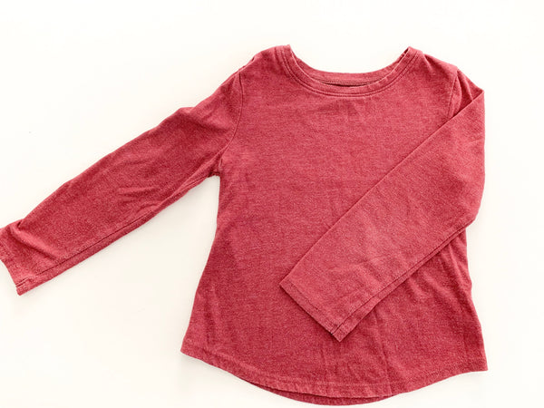 Old Navy burgundy LS