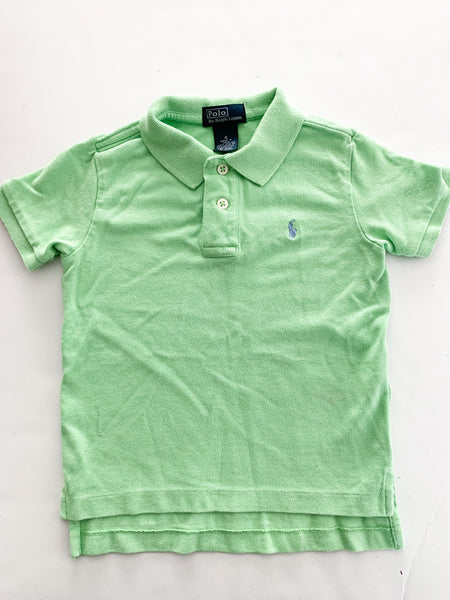 Polo Ralph Lauren light green polo shirt (sz 4)