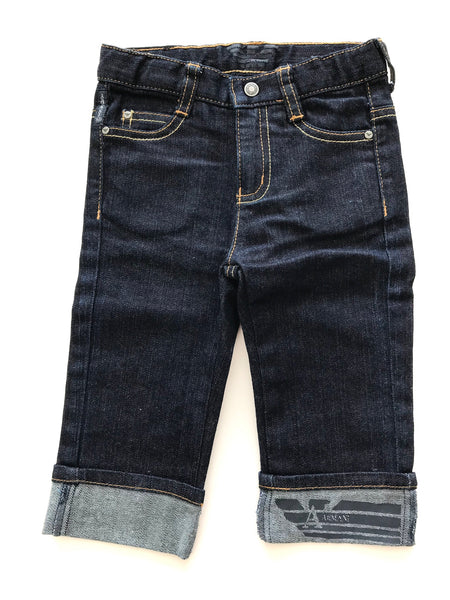 Armani dark denim