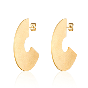 C-Shaped Earrings