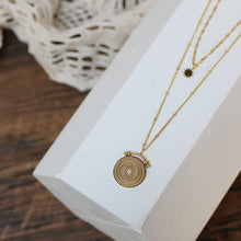 Load image into Gallery viewer, Roman Retro Pendant Necklace