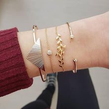 Load image into Gallery viewer, Stacking Gold Bangles