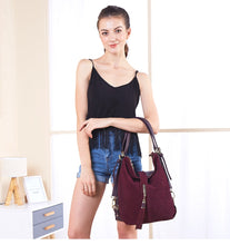 Load image into Gallery viewer, Suede Leather Shoulder Bag