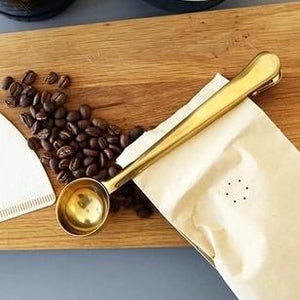Coffee Measuring Spoon/Clip