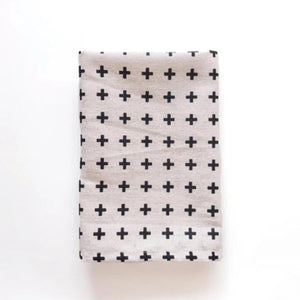 Black Plus Linen Napkin