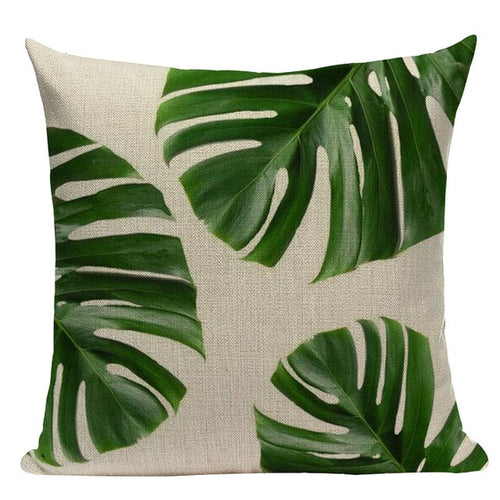 Jurassic Greens Pillow Cover