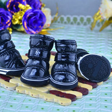 Load image into Gallery viewer, 4Pcs/Set Non Slip Waterproof Pet Dog Shoes - Petscitoshop