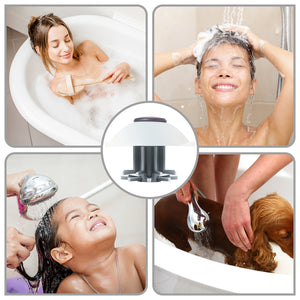 3-in-1 Drain Hair Catcher Tub Stopper Hot Safety Protector Cover for Bathtub, 2 PCS/Set