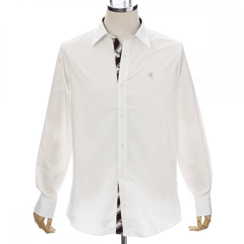 Men's Long Sleeve Regular Fit Cotton Dress Shirt -13. Miracle- Pegasus Design Made in Japan