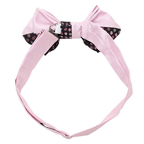 Men's Pre-Tied Adjustable Bow Tie -21. MIZUTAMA Japanese Traditional Dots Pattern Made in Japan