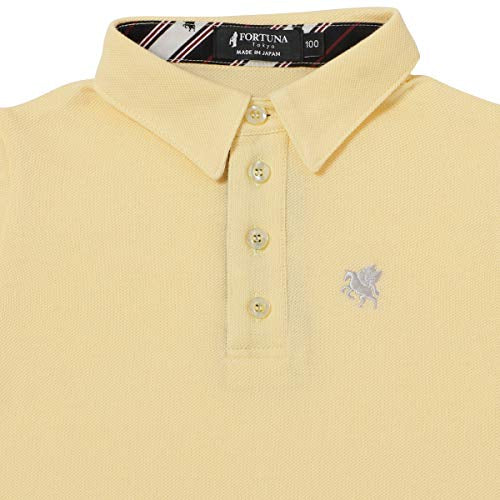 Disinfecting Cloth Kid's Polo Shirt Short Sleeve -13. Miracle Pegasus Design Made in Japan