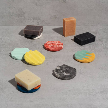 Round Soap Dishes from Yod & Co.