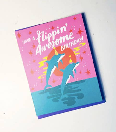 Have a Flippin' Awesome Birthday card