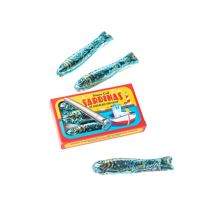 Milk Chocolate Sardines
