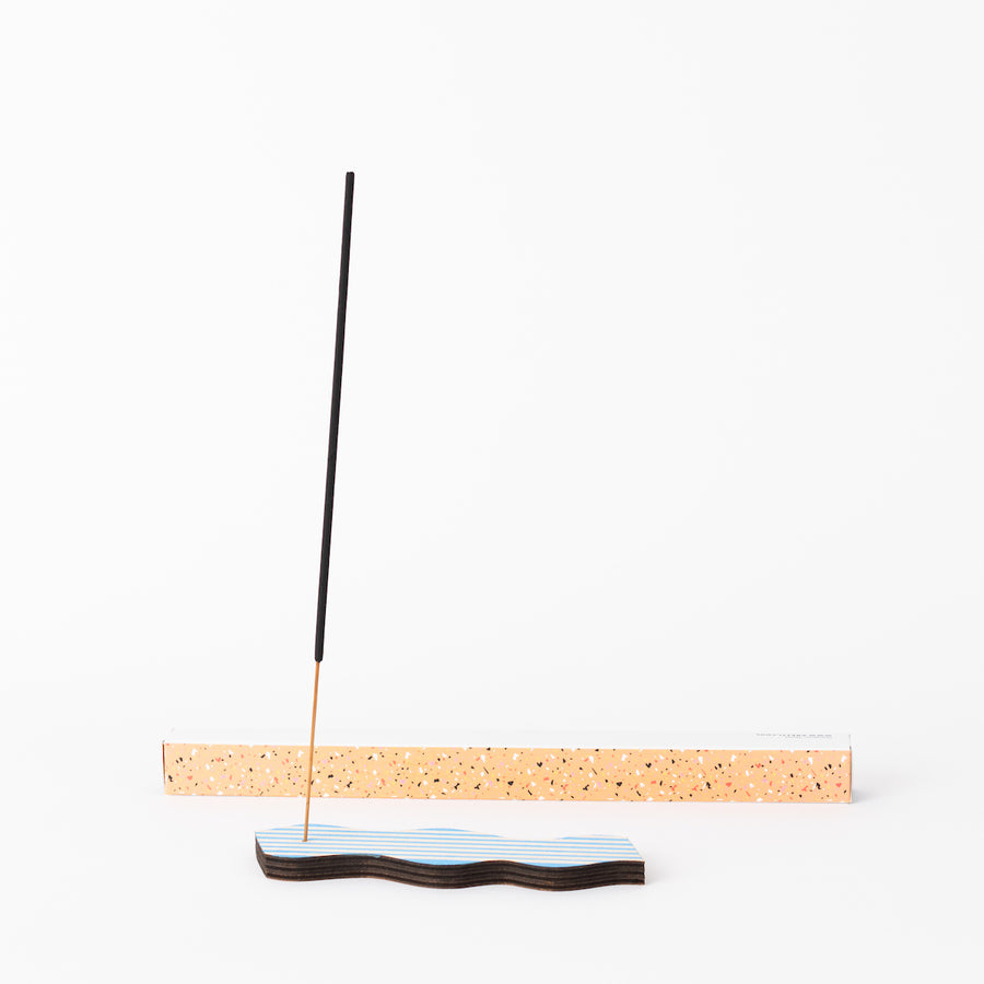 Great Lakes Goods Wave Incense Holders