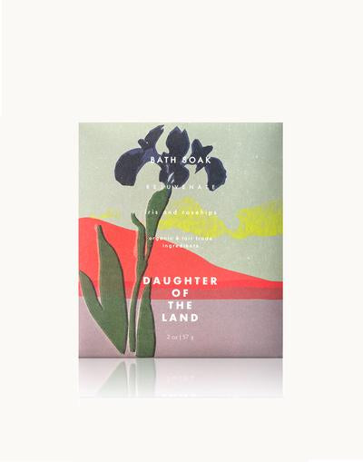 Daughter of the Land Rejuvenate Bath Soak with Iris + Rosehips