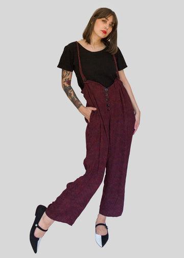 Janice McCarty Trousers with Removable Straps