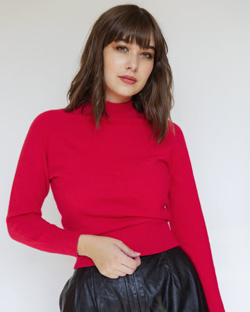 Garland Bright Red Sweater