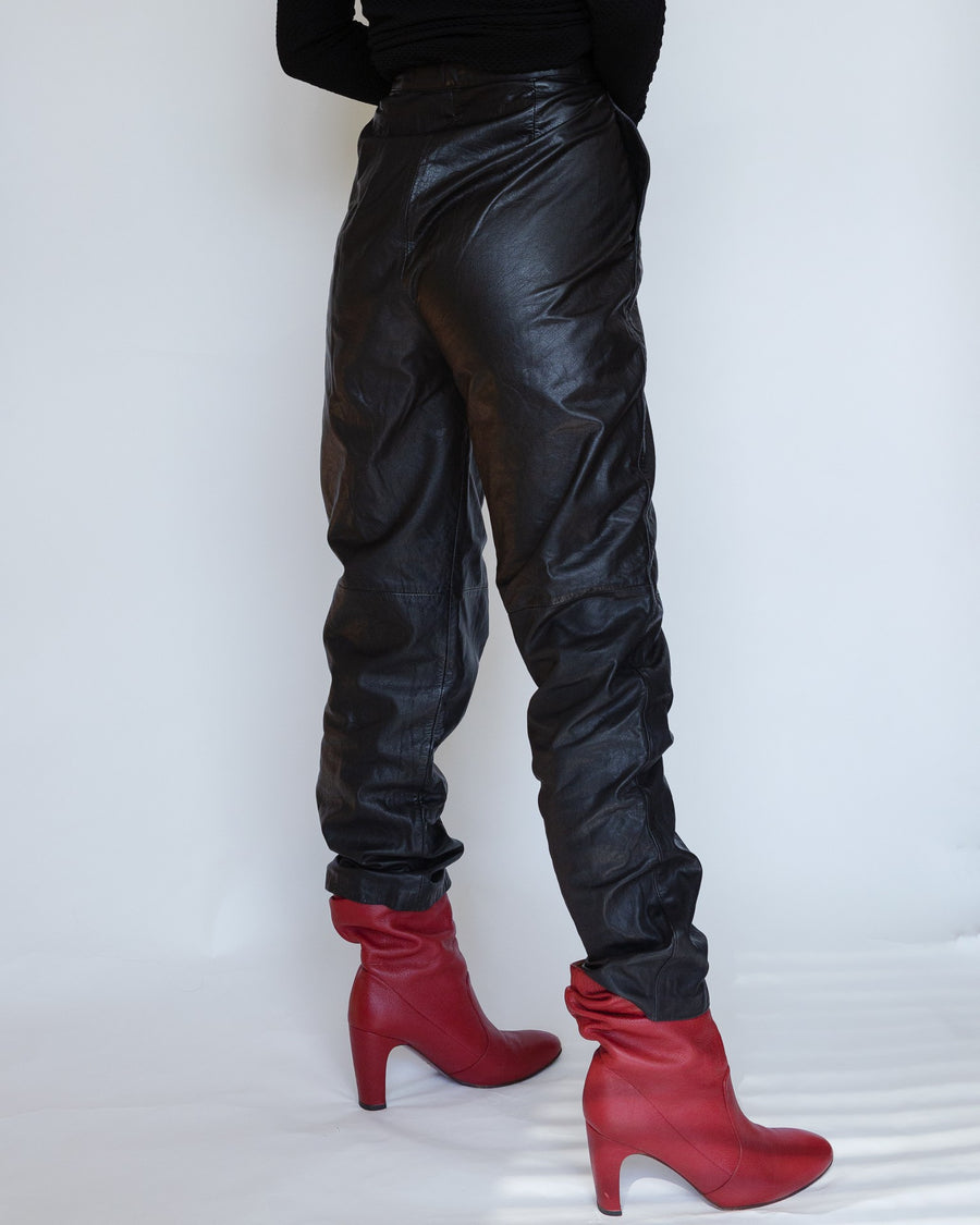 Evan Davies Leather Pants