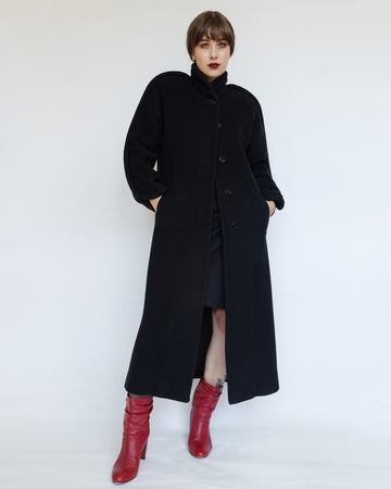 Chloe Coat with Piping Detail