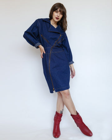 Temperature Denim Dress