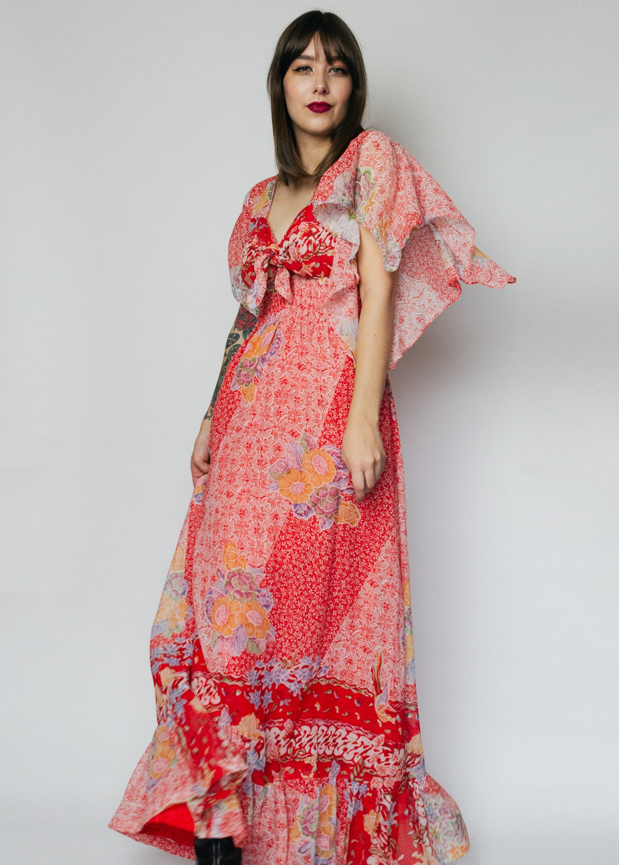 Red Maxi Dress From The Ingenue of California