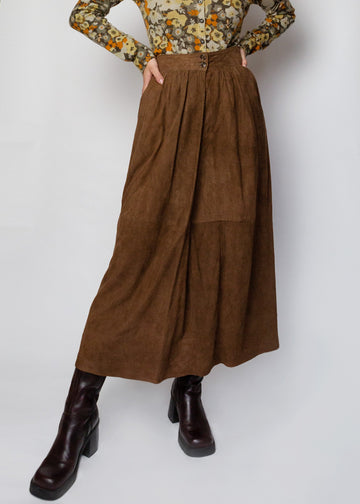 The Talbots suede skirt