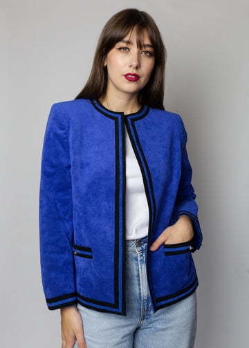 Abe Schrader for Neiman Marcus Cobalt Blue Jacket