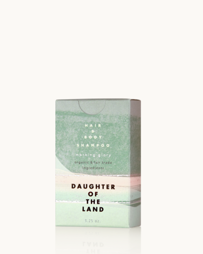 Daughter of the Land Morning Glory Hair + Shampoo Bar