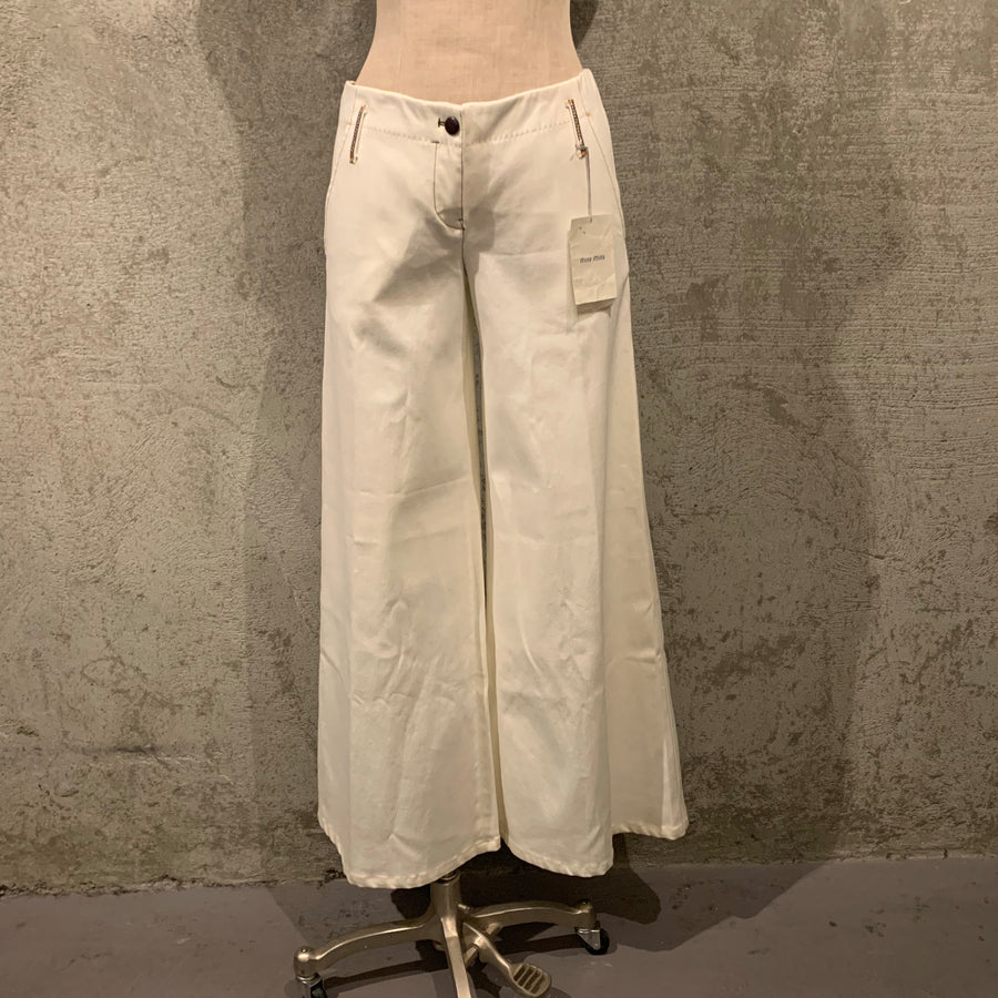 Miu Miu denim bell bottoms