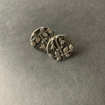 Swedish Pewter Earrings