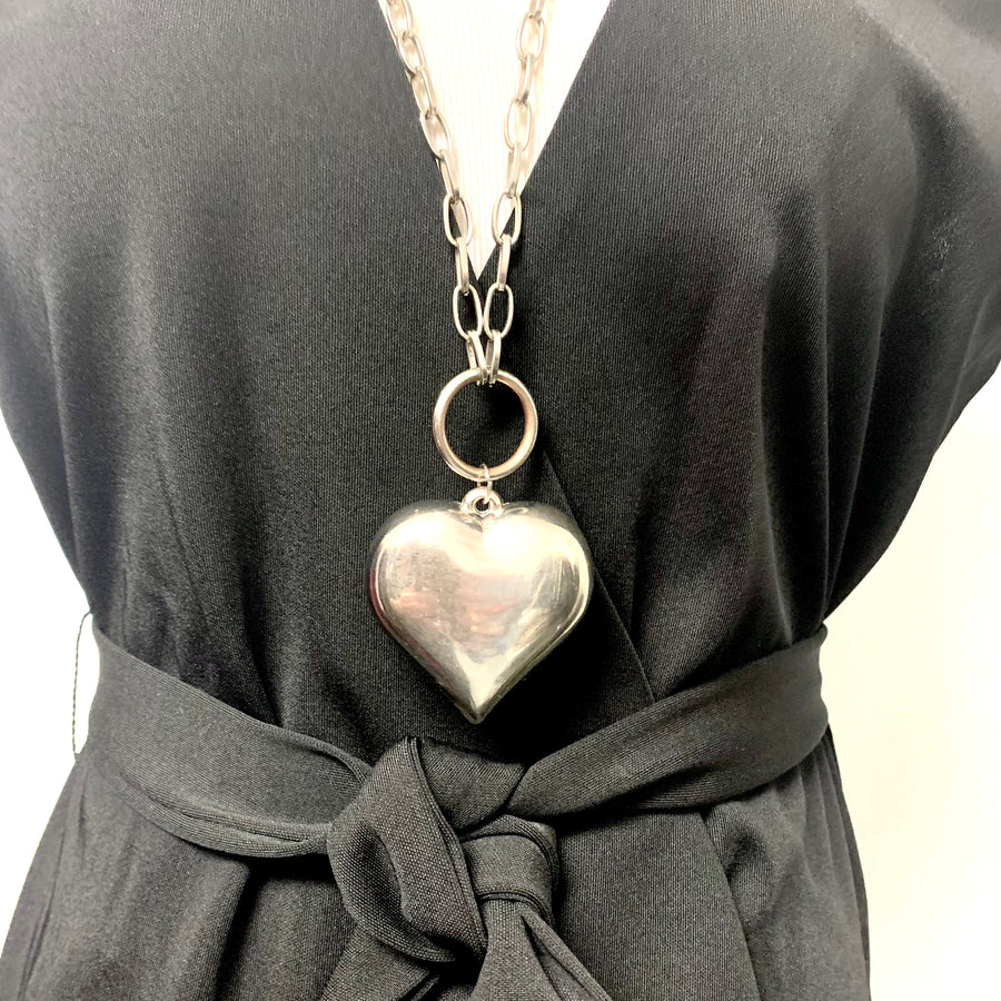 Huge Heart Necklace