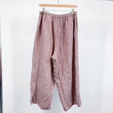 Dusty Pink Flax Apartment Pants