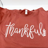 Thankful - Heather Autumn - Graphic Tee - Fall - Thanksgiving - T-Shirt - Luna & Grace