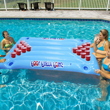Load image into Gallery viewer, 24 Cup Inflatable Beer Pong Pool Float