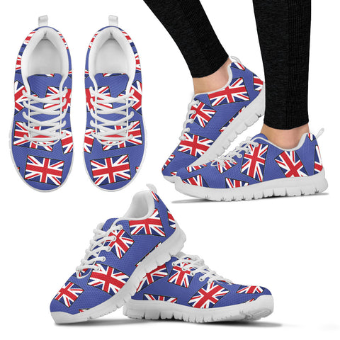 GREAT BRITAIN'S PRIDE! GREAT BRITAIN'S FLAGSHOE - Women's Sneaker