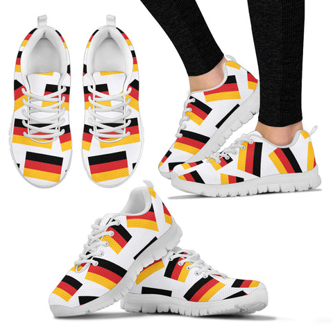 GERMANY'S PRIDE! GERMANY'S FLAGSHOE - Women's Sneakers