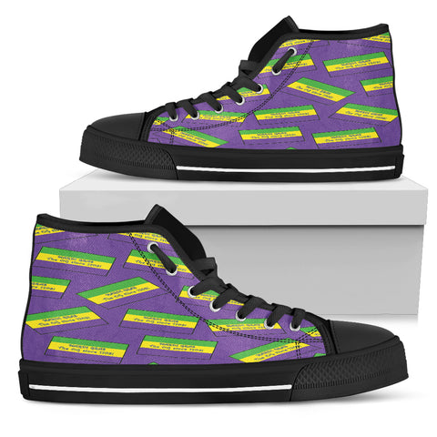 ALABAMA'S MARDI GRAS PRIDE! THE OG SINCE 1703! - Men's High Top